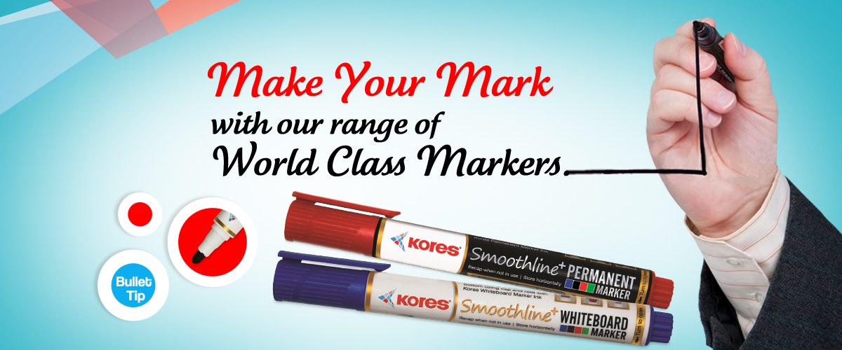 Markers Banner