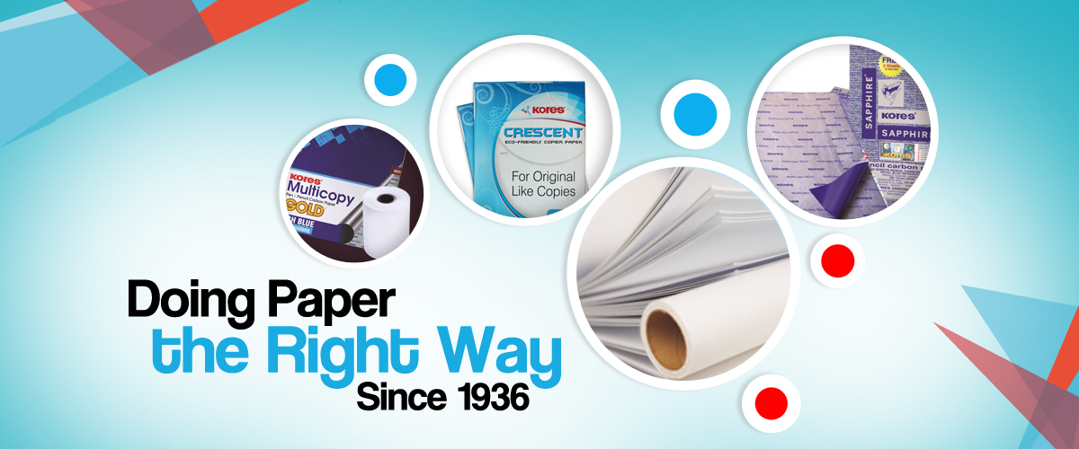 Paper and Related products banner