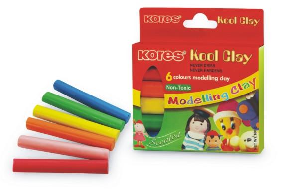 Kool Clay 100 gms 6 shades